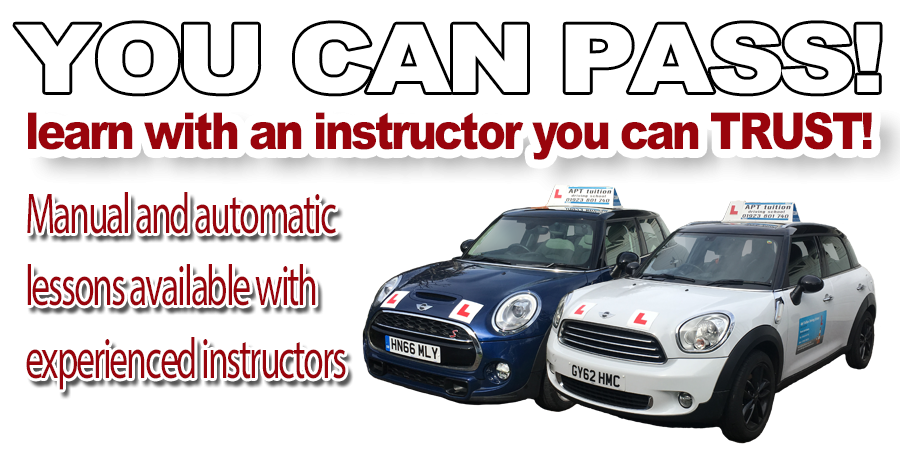 Driving lessons with Apt Tuition
